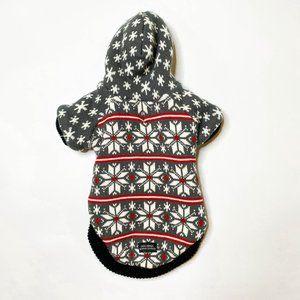 Cats+Dawgs Snowflake Zip Pet Sweater